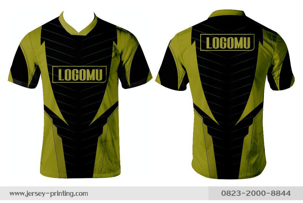 Jersey printing futsal gaming lari badminton panahan mancing (438)