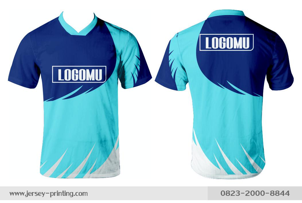 Jersey printing futsal gaming lari badminton panahan mancing (381)