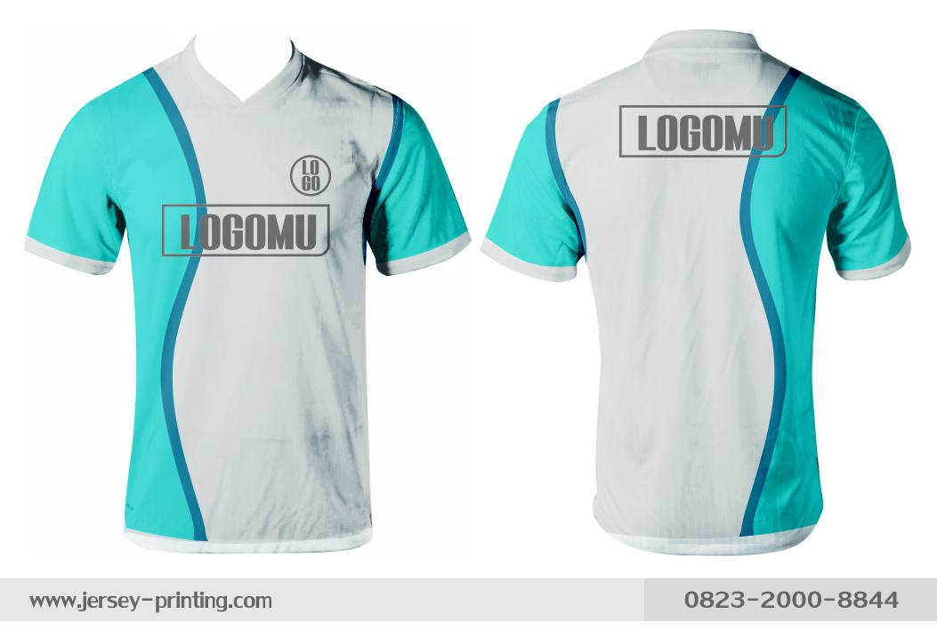 Jersey printing futsal gaming lari badminton panahan mancing (459)