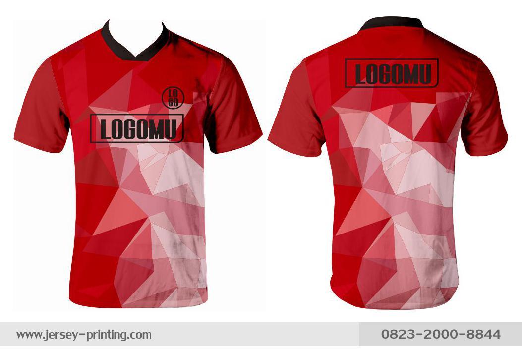 Jersey printing futsal gaming lari badminton panahan mancing (233)