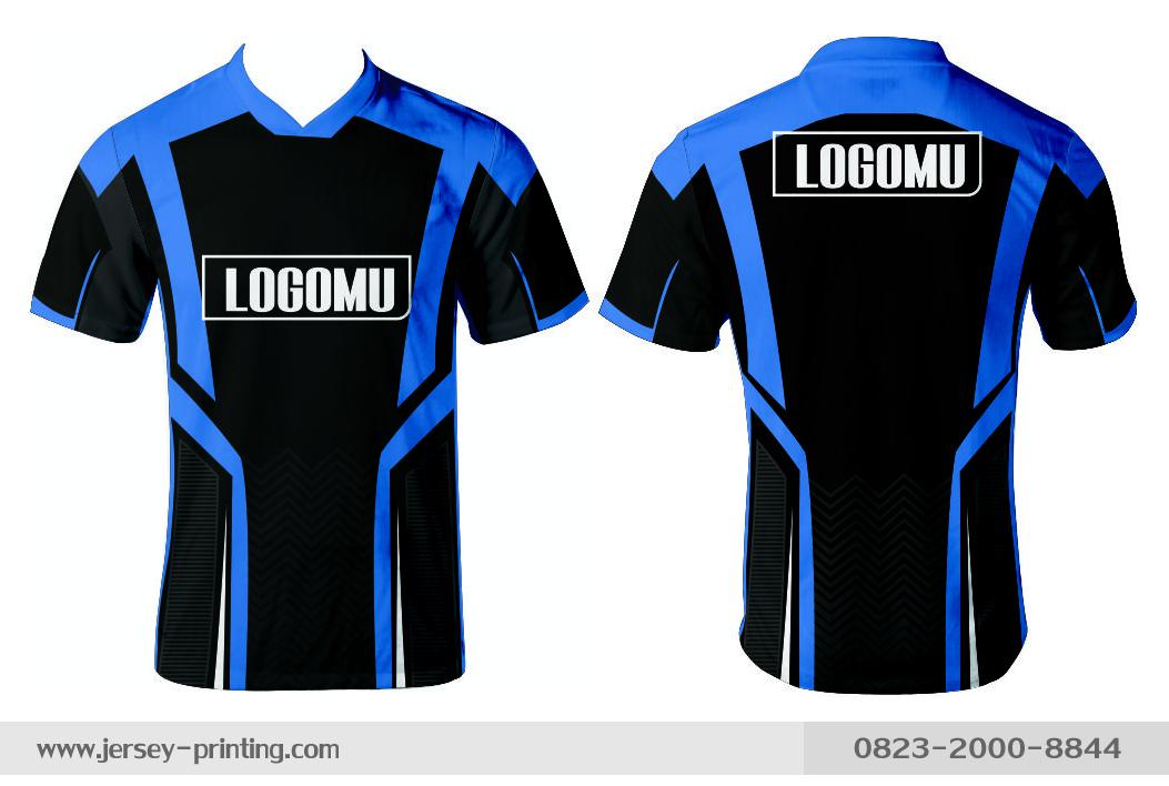 Jersey printing futsal gaming lari badminton panahan mancing (265)