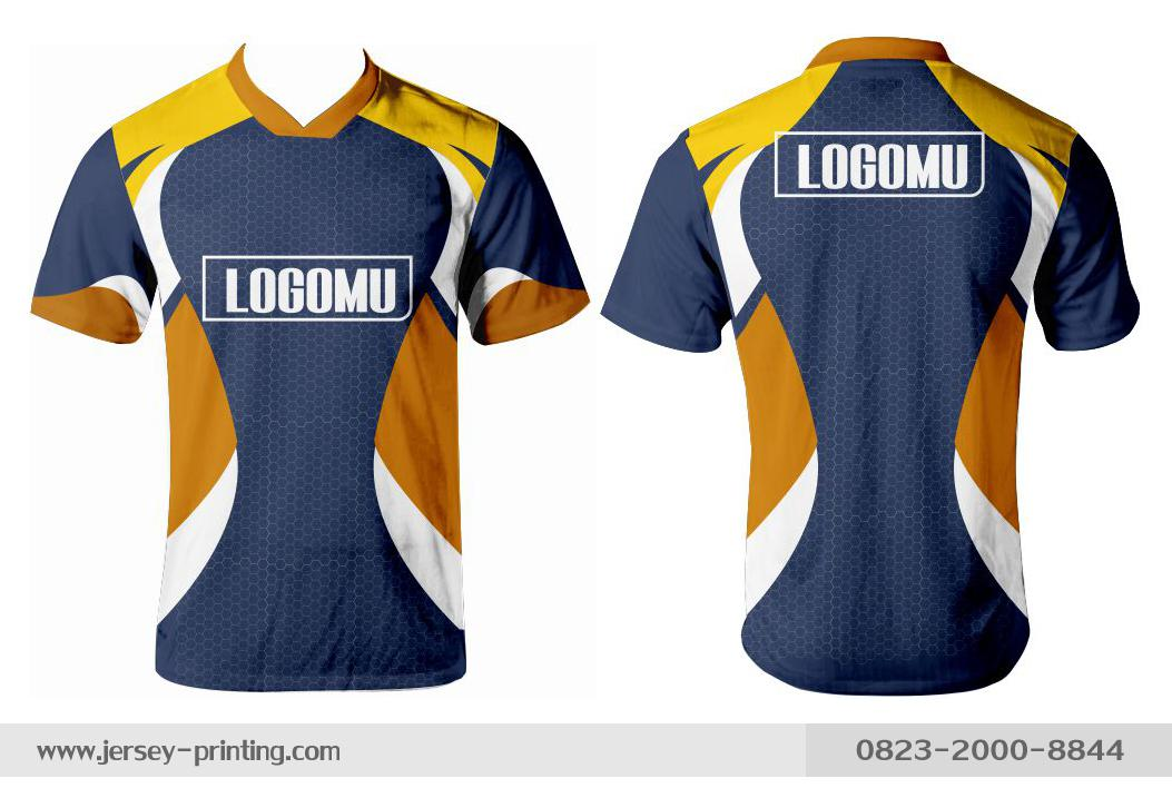 Jersey printing futsal gaming lari badminton panahan mancing (228)