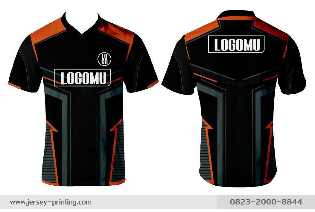 Jersey printing futsal gaming lari badminton panahan mancing (206)