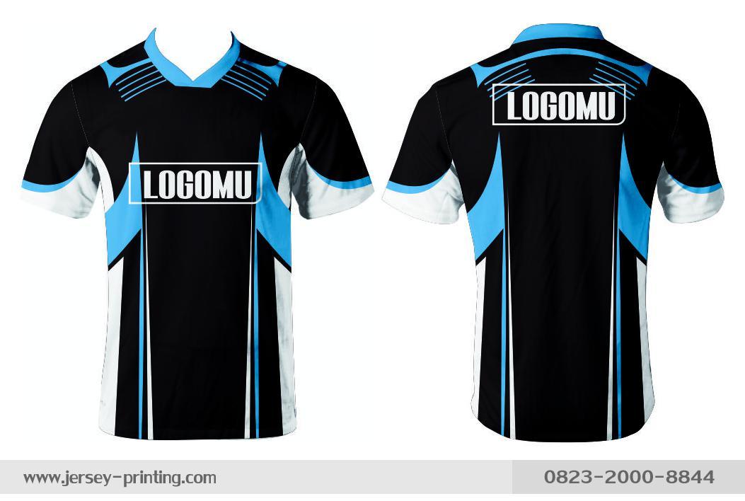 Jersey printing futsal gaming lari badminton panahan mancing (351)