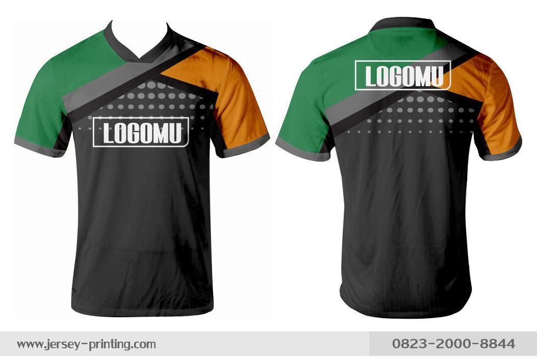Jersey printing futsal gaming lari badminton panahan mancing (540)