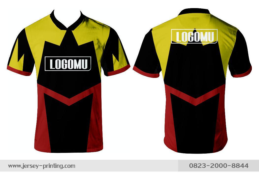Jersey printing futsal gaming lari badminton panahan mancing (370)