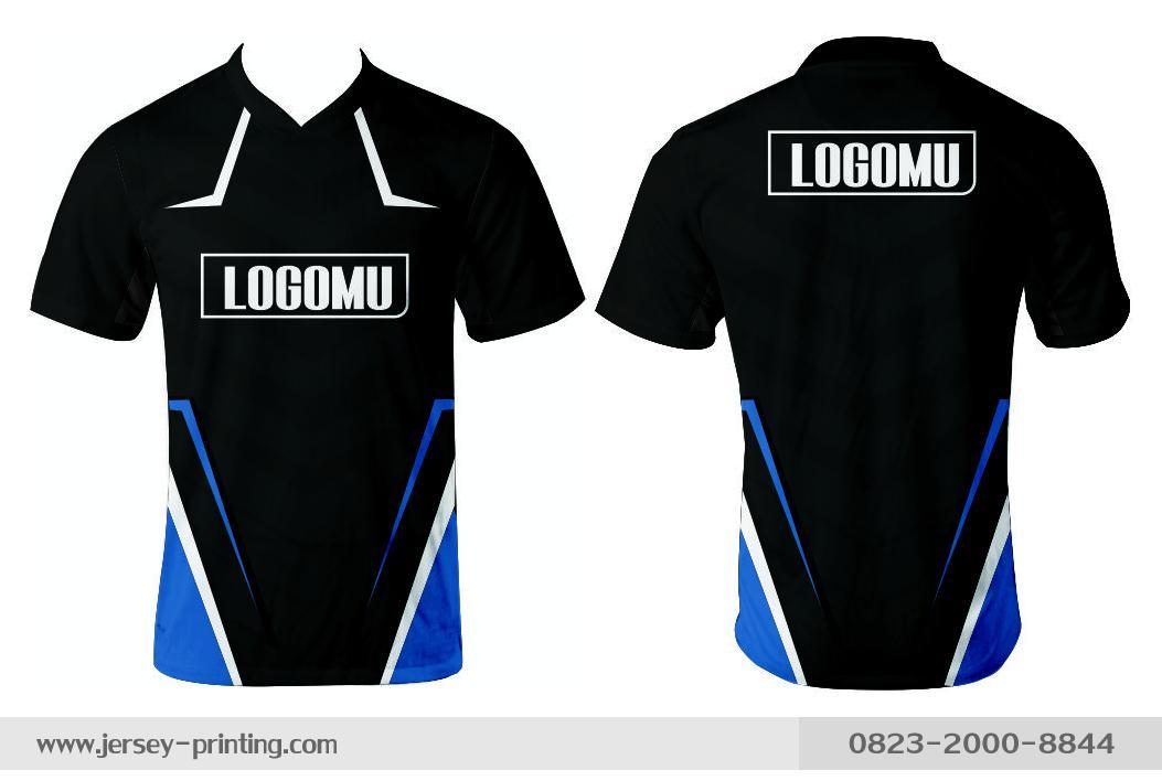 Jersey printing futsal gaming lari badminton panahan mancing (357)