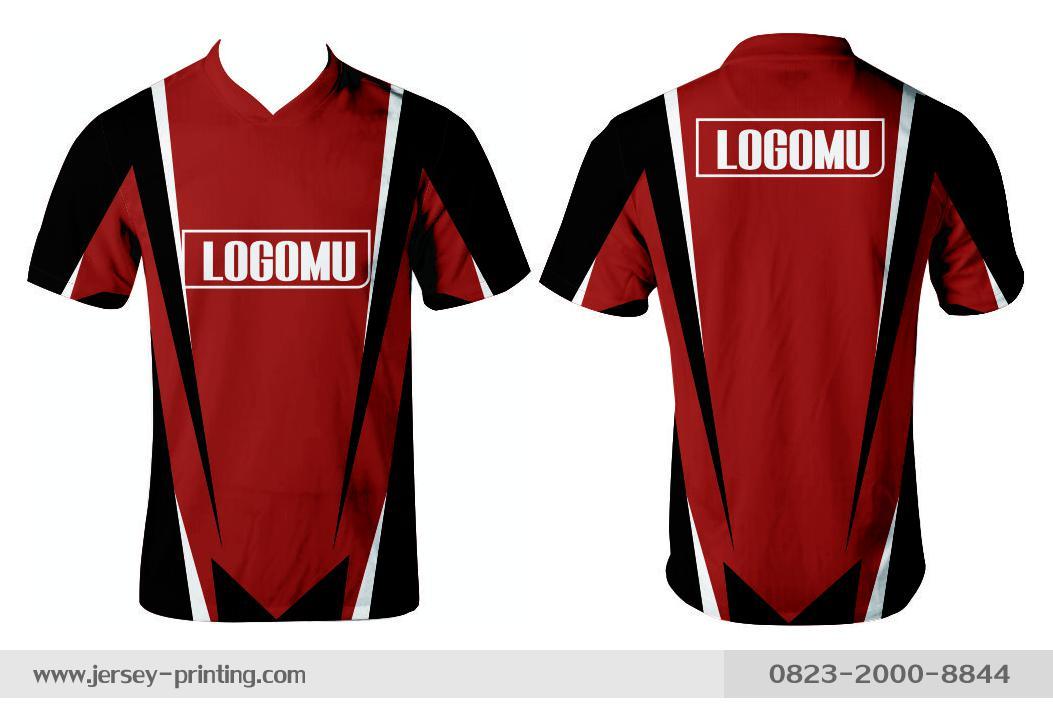 Jersey printing futsal gaming lari badminton panahan mancing (286)