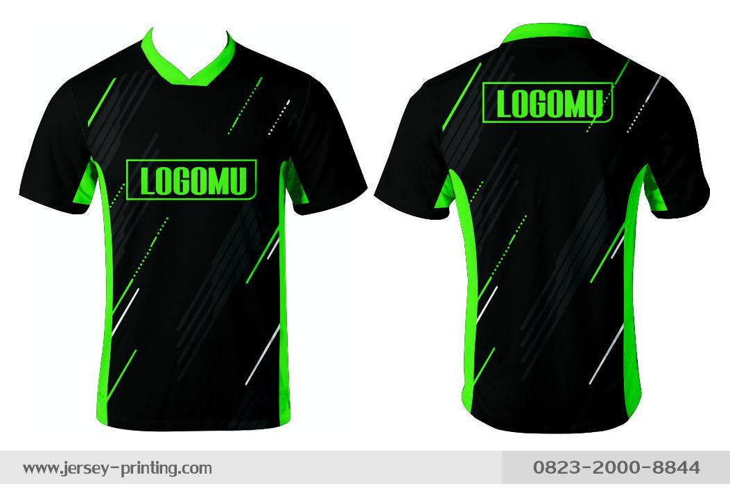 Jersey printing futsal gaming lari badminton panahan mancing (359)