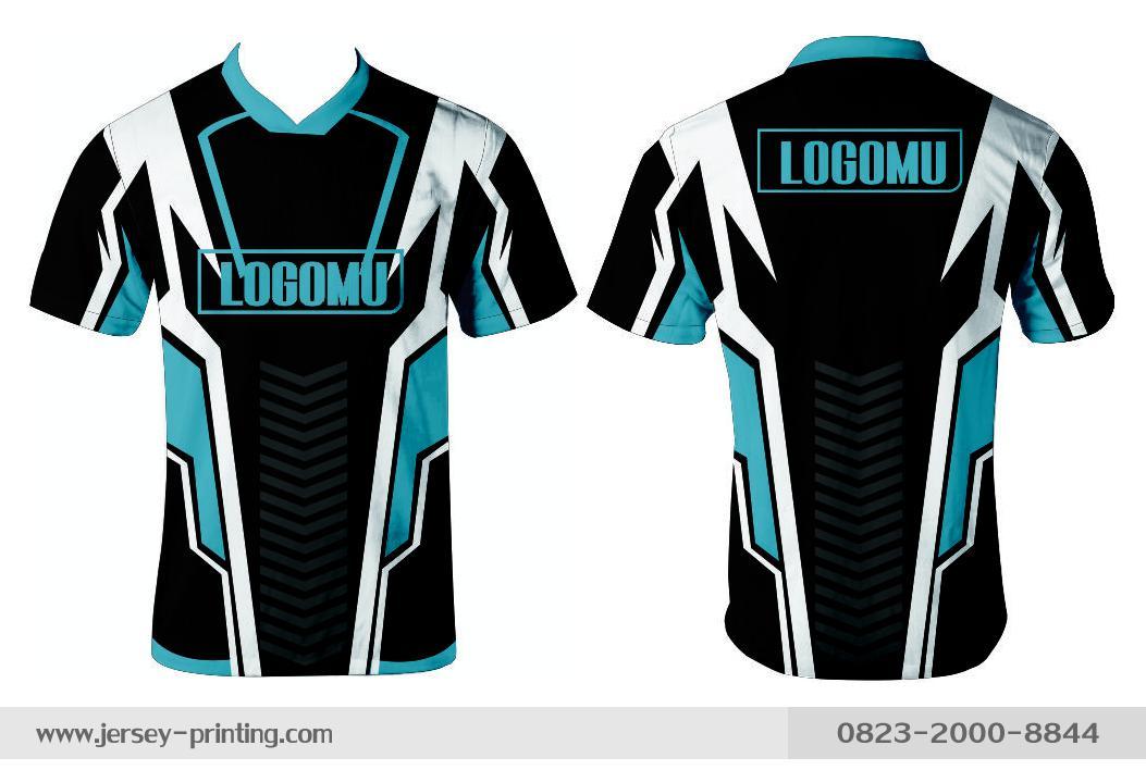 Jersey printing futsal gaming lari badminton panahan mancing (238)