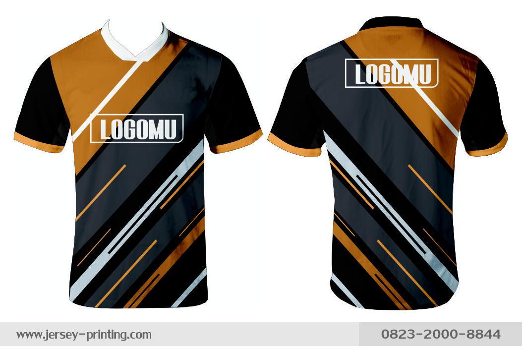 Jersey printing futsal gaming lari badminton panahan mancing (197)