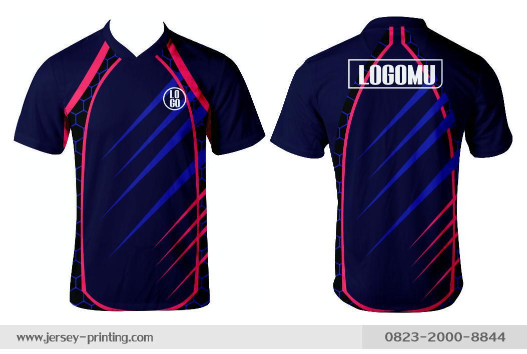 Jersey printing futsal gaming lari badminton panahan mancing (374)