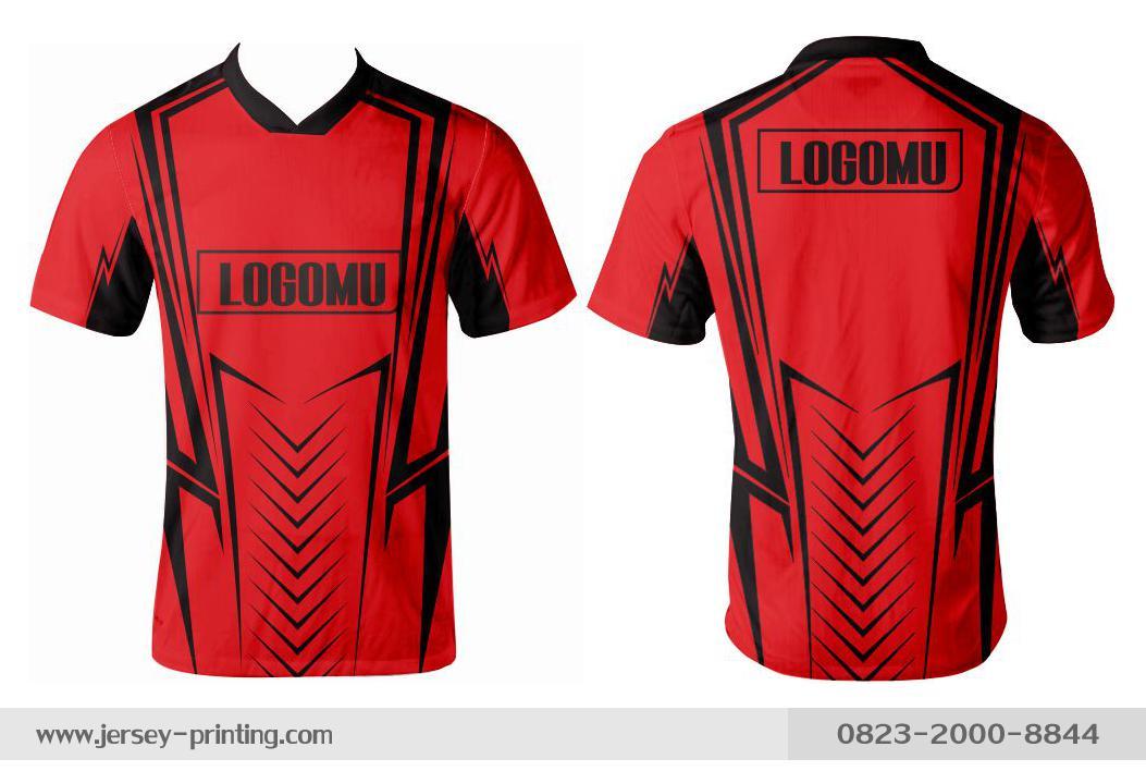 Jersey printing futsal gaming lari badminton panahan mancing (284)
