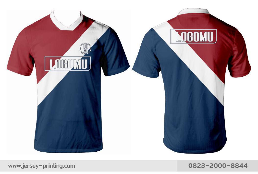 Jersey printing futsal gaming lari badminton panahan mancing (321)