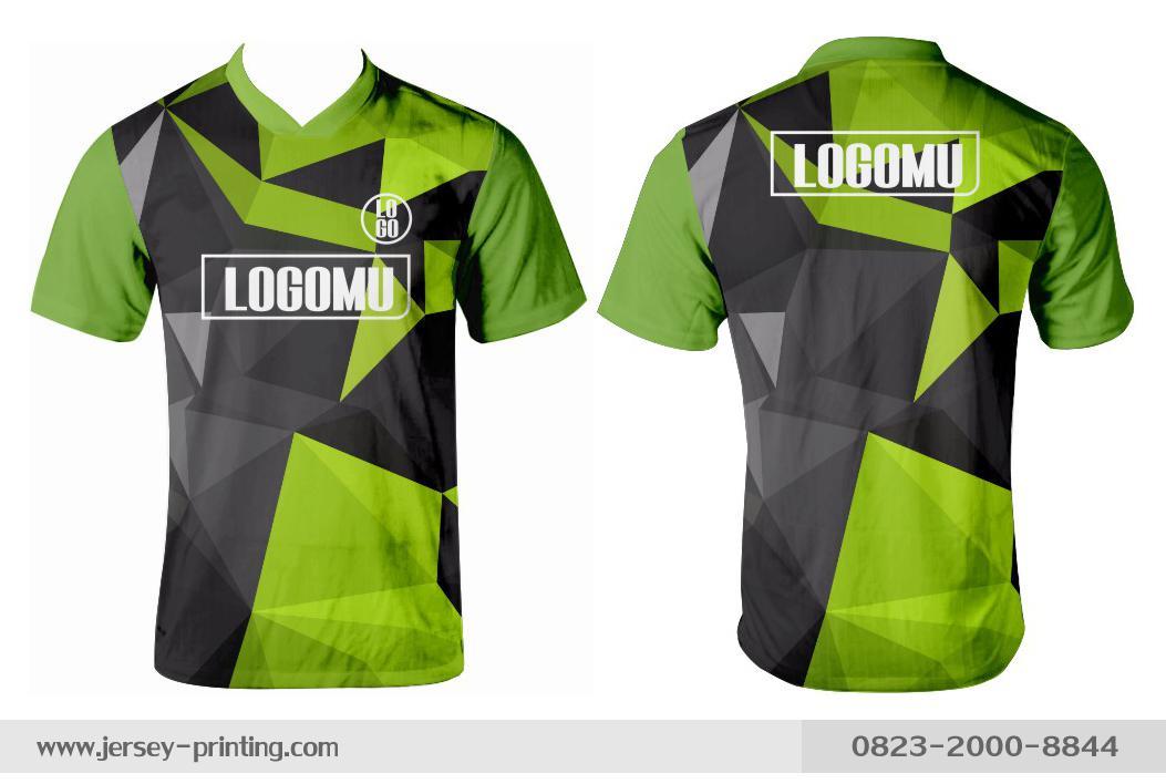 Jersey printing futsal gaming lari badminton panahan mancing (561)
