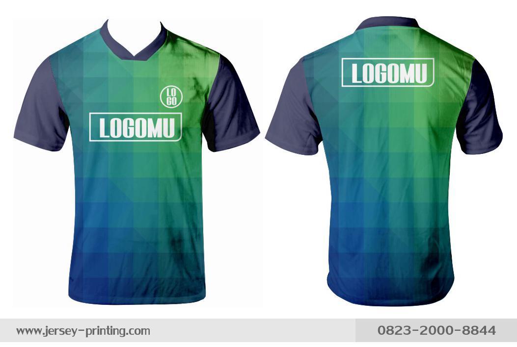 Jersey printing futsal gaming lari badminton panahan mancing (419)