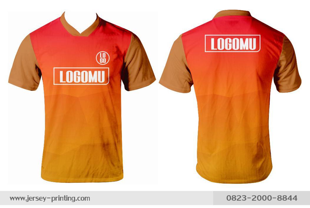 Jersey printing futsal gaming lari badminton panahan mancing (298)