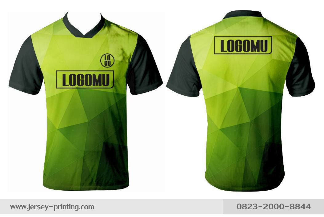 Jersey printing futsal gaming lari badminton panahan mancing (530)