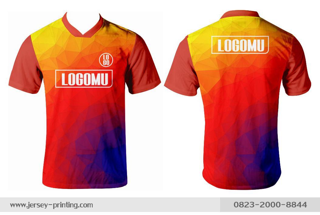 Jersey printing futsal gaming lari badminton panahan mancing (317)