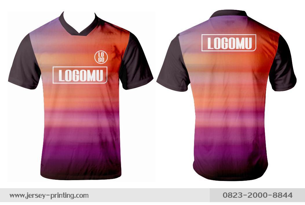 Jersey printing futsal gaming lari badminton panahan mancing (439)