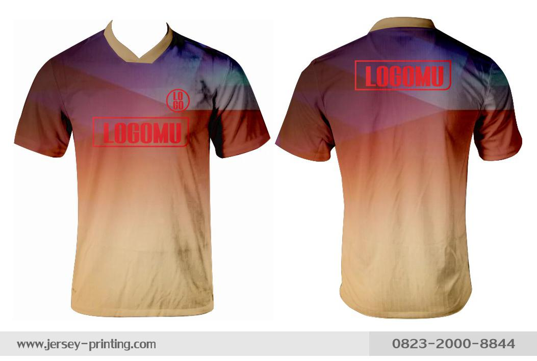 Jersey printing futsal gaming lari badminton panahan mancing (161)