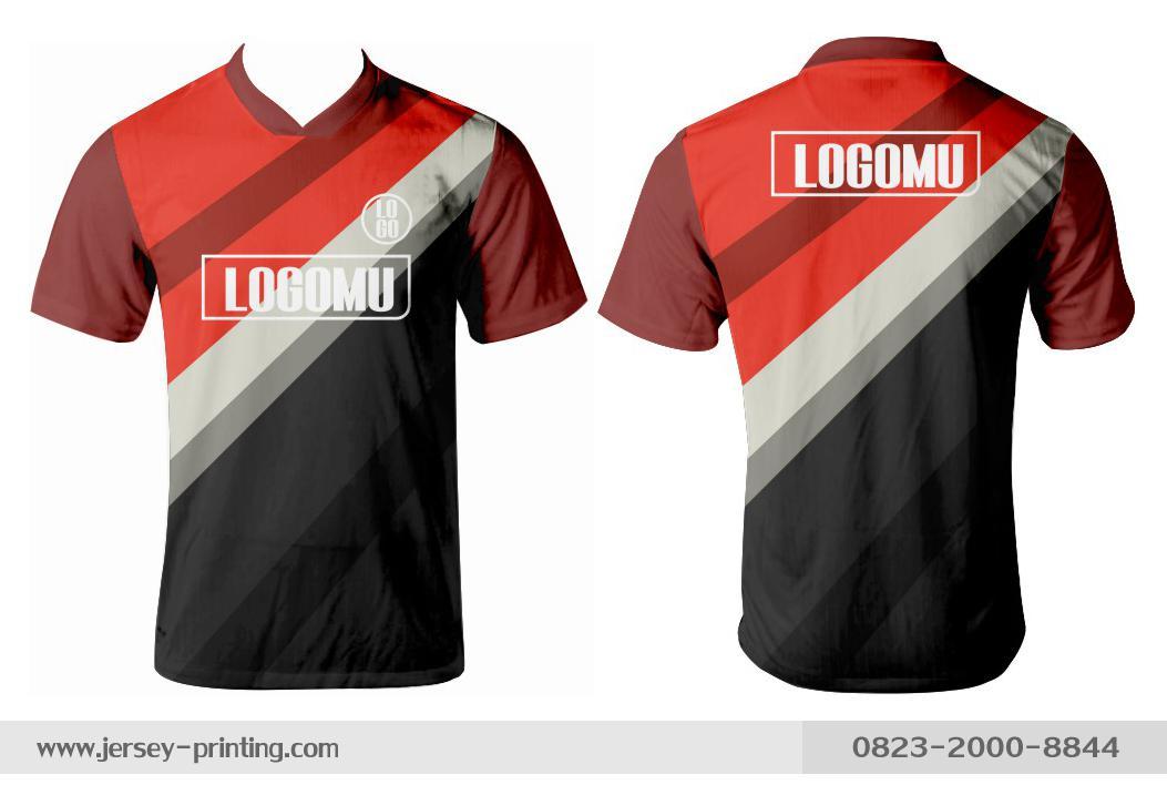 Jersey printing futsal gaming lari badminton panahan mancing (237)