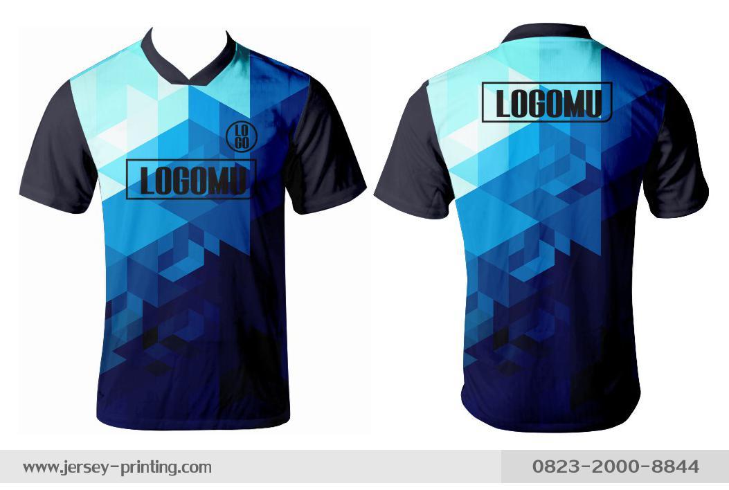 Jersey printing futsal gaming lari badminton panahan mancing (494)