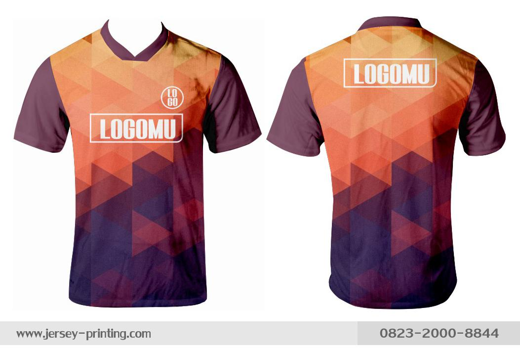 Jersey printing futsal gaming lari badminton panahan mancing (216)