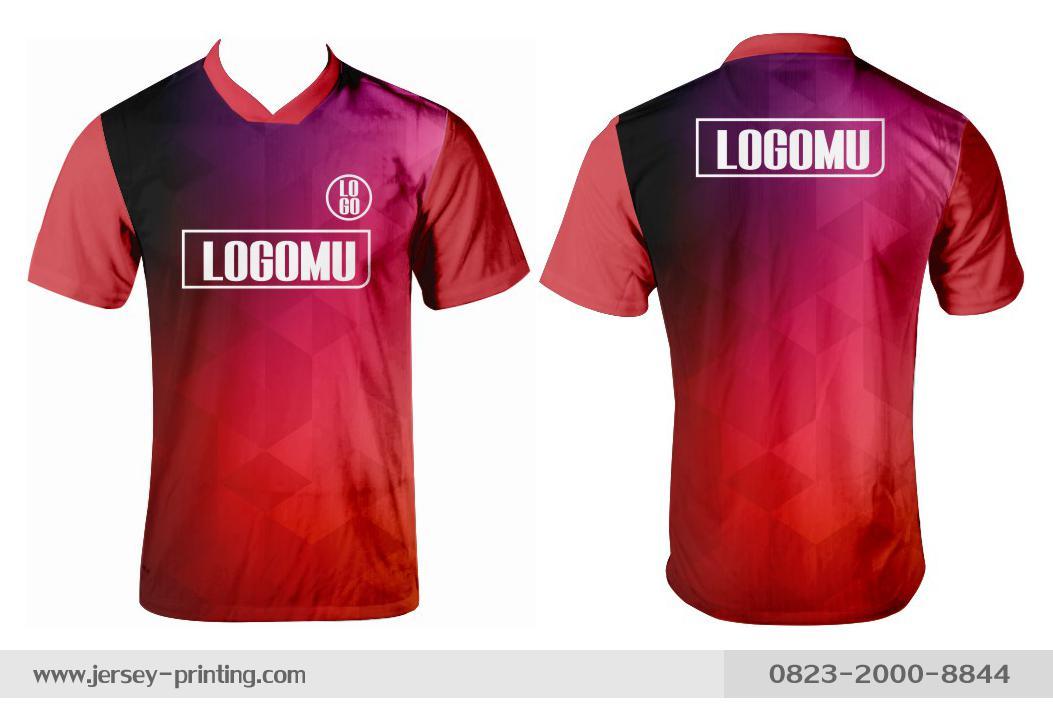 Jersey printing futsal gaming lari badminton panahan mancing (566)