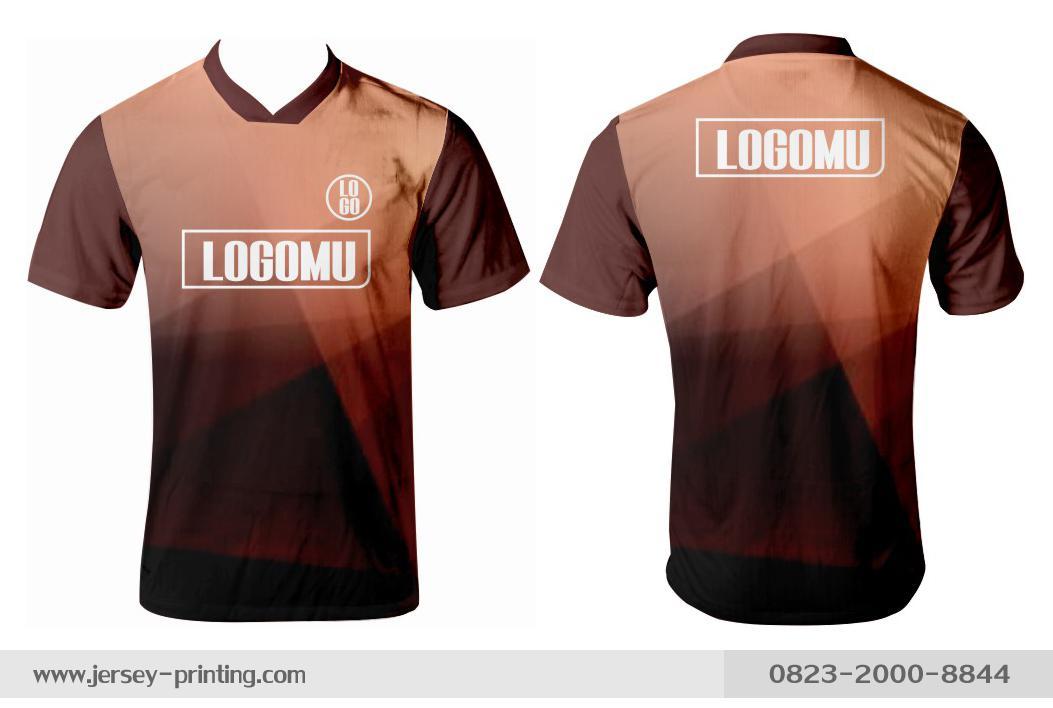 Jersey printing futsal gaming lari badminton panahan mancing (434)