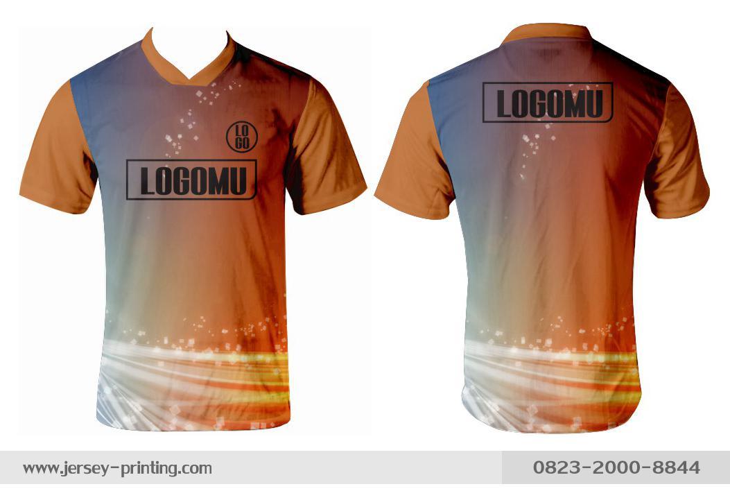 Jersey printing futsal gaming lari badminton panahan mancing (310)